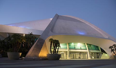 Anaheim Convention Center in California