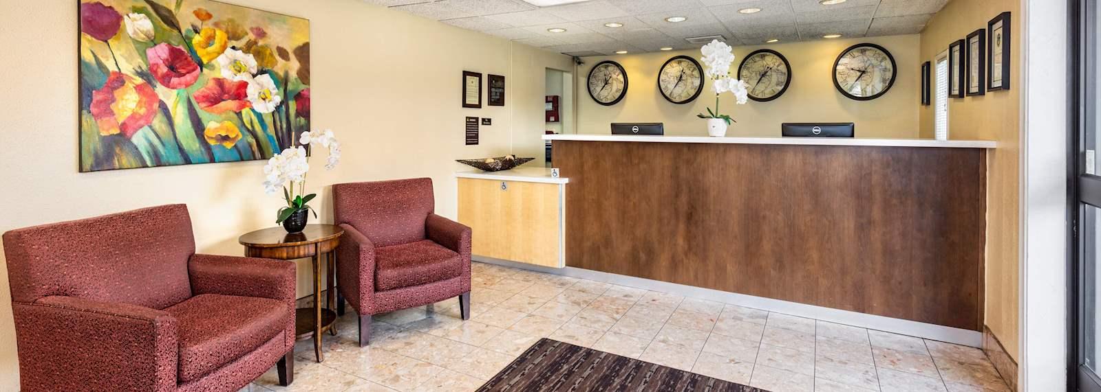 Key inn and suites Tustin - Hotel Lobby