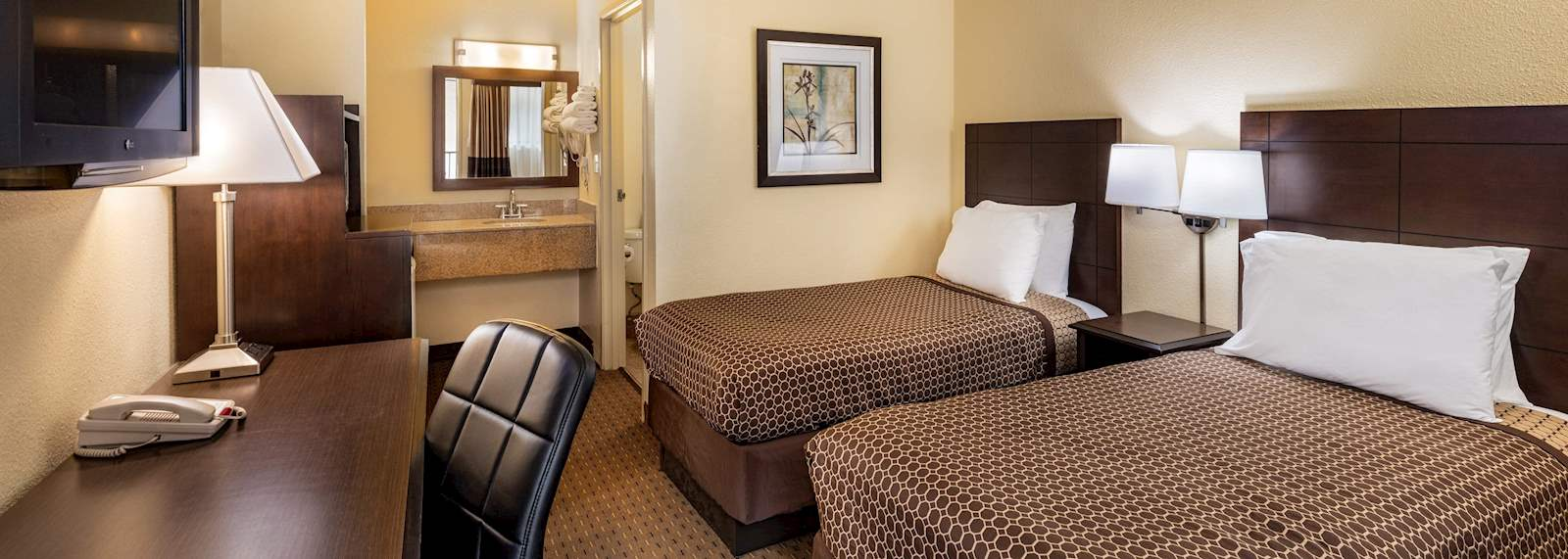 Key inn and suites Tustin - Two Twin Beds